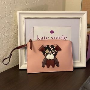 KATE SPADE ♠️ Floral Pup Pouch